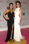 Alexa & Makenzie Vega - Premio Lo Nuestro Awards in Miami 02/20/14
