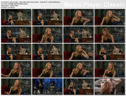 "HOLLY HUNTER - ""Jimmy Fallon"" (June 9, 2010) - legs, interview"