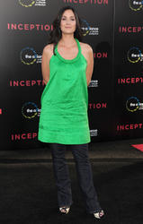 "*ADDS* Carrie-Anne Moss @ ""Inception"" Los Angeles Premiere - July 13, 2010 (x1)"