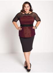 Деловая одежда для полных женщин 2011