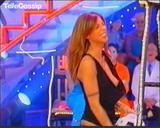 Italian actress Elisabetta Canalis: 2 ooops VIDEO from Italian Tv