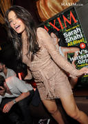 Sarah Shahi - October 2012 Maxim cover party in Las Vegas 09/15/12