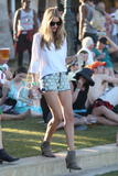 Rosie Huntington-Whiteley @ Coachella Valley Music Arts Festival in Indio | April 20 | 6 pics