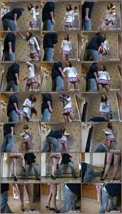 Schoolgirl Ballbusting Femdom